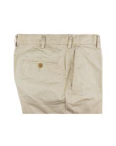 Khaki trousers slimmer fit