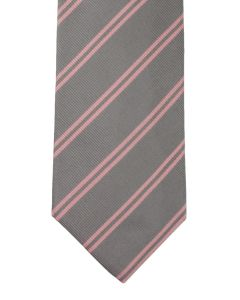 Stripe grey pink