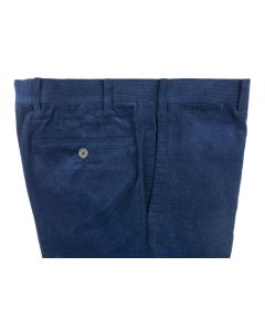 Corduroy navy trousers