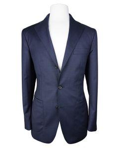 Navy nailhead jacket