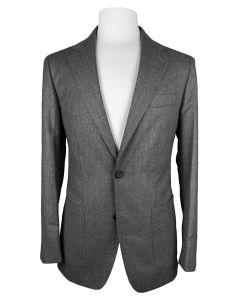 Flannel mid grey jacket