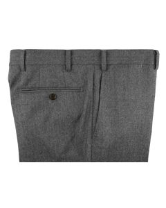 Flannel mid grey trousers