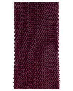 Knit bicolor red / burgundy