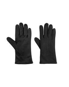 Deerskin gloves black touchscreen