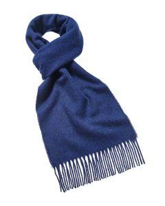 Blue merino scarf