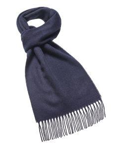 Navy merino scarf