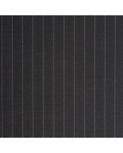 Charcoal stripe white 11mm