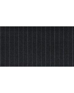 Charcoal stripe white 6mm