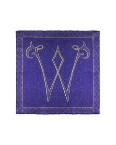 Monogram W purple