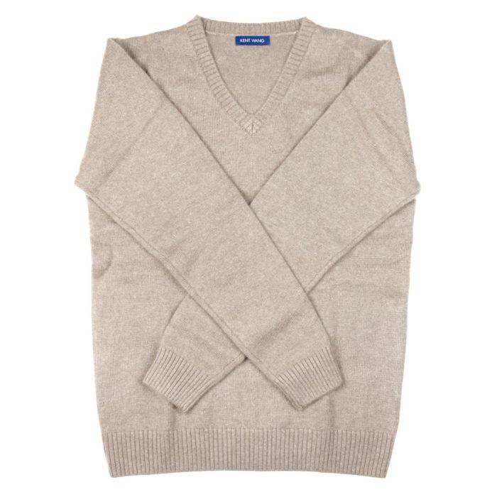 Sweater cashmere tan