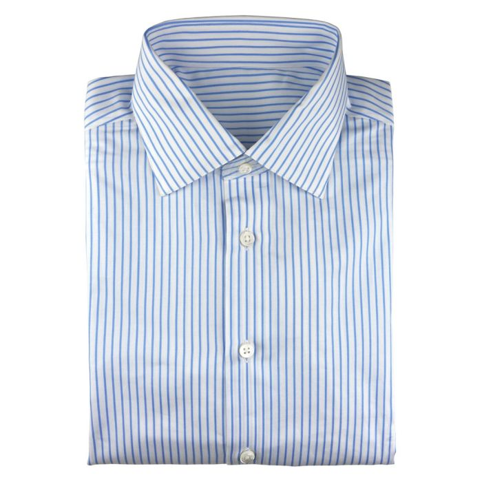Stripe white blue