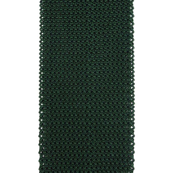 Knit dark green