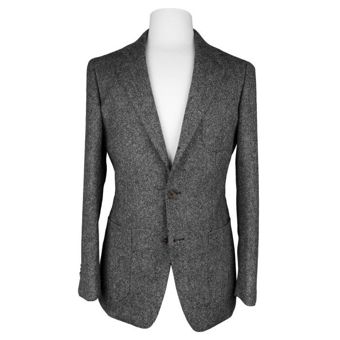 Tweed mid grey jacket