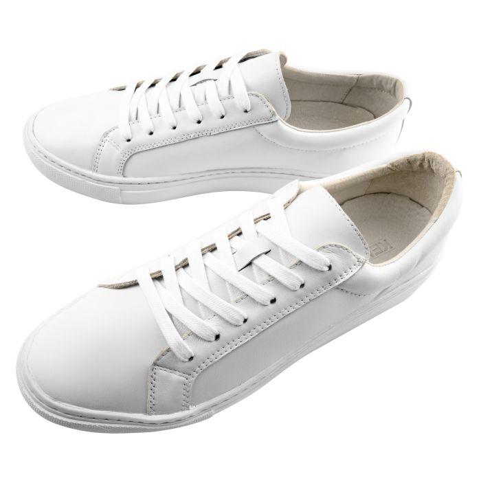 Sneaker handgrade pure white