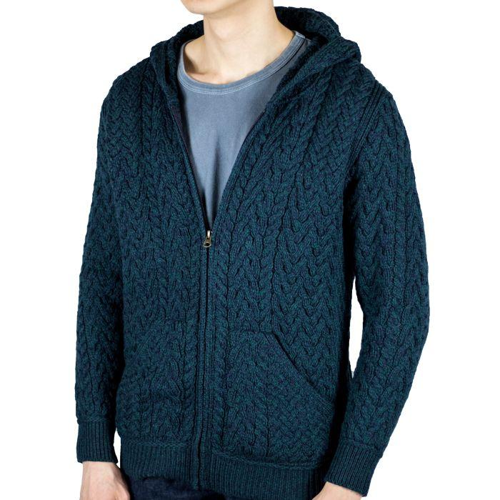 Zane wearing L hoodie. He is 6'1