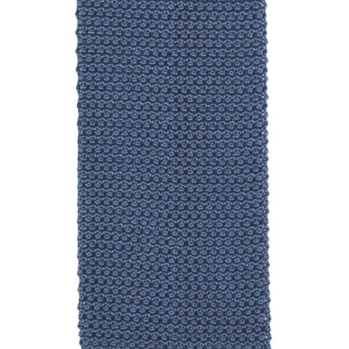 Knit medium blue