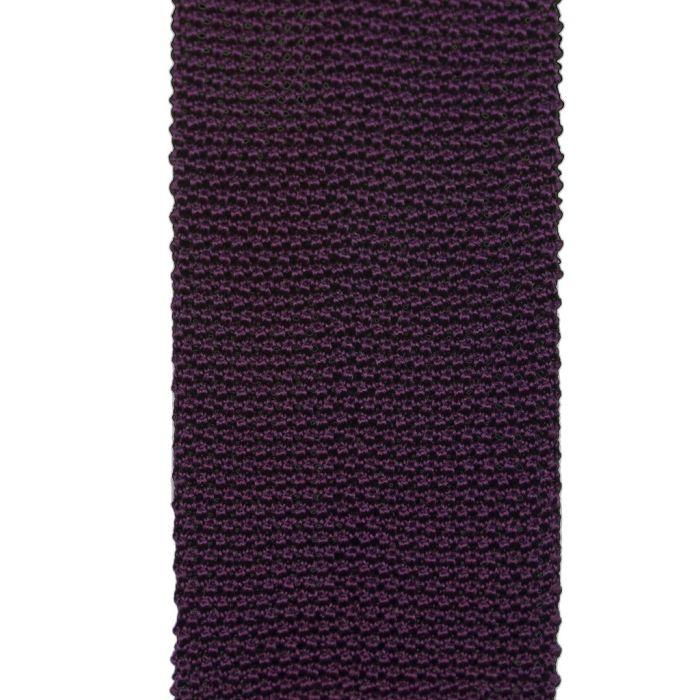 Knit burgundy