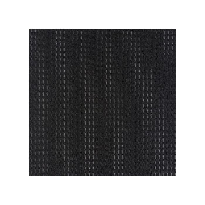 Charcoal pinstripe white 4mm