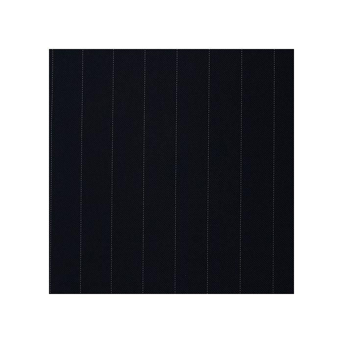 Navy pinstripe white 17mm