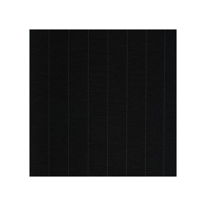 Charcoal pinstripe white 17mm
