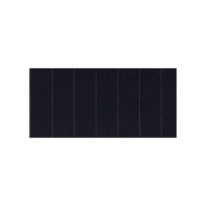 Navy pinstripe white 14mm