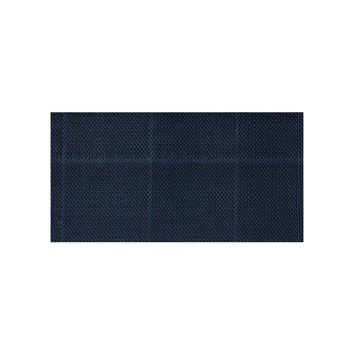 Navy windowpane blue