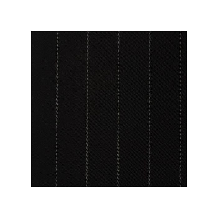 Black chalkstripe 25mm