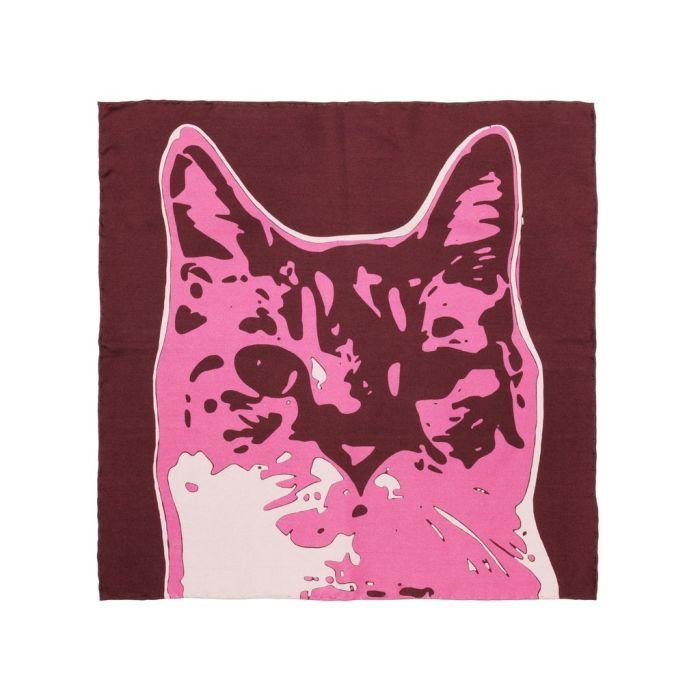 Cat burgundy
