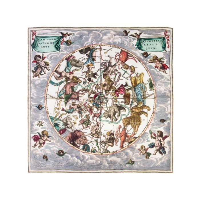 Star chart Cellarius