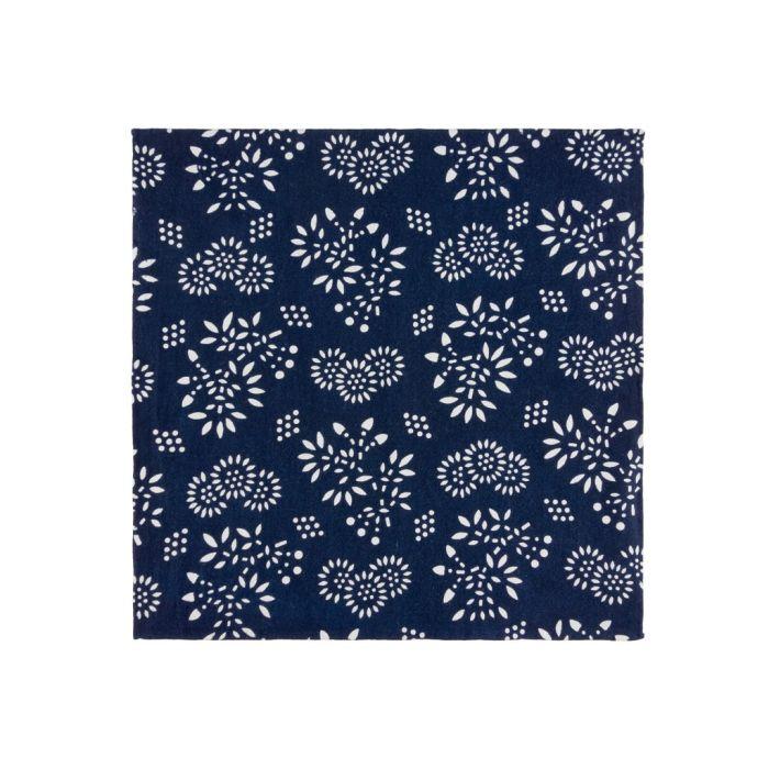 Blue nankeen floral
