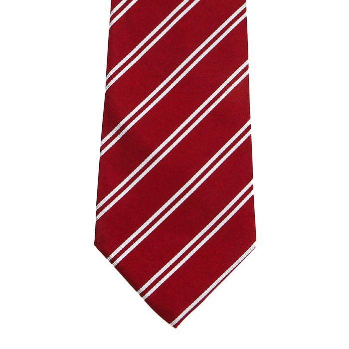 Stripe red white