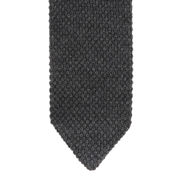 Knit wool grey