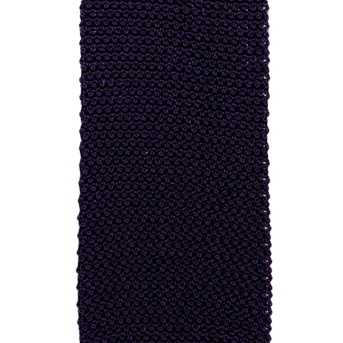Knit purple