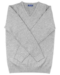 Sweater cashmere light grey