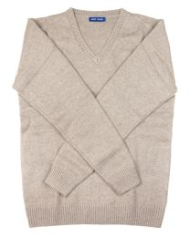 Sweater cashmere tan