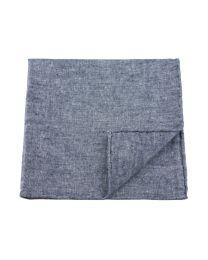 Linen chambray grey