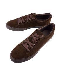 Sneaker benchgrade suede dark brown