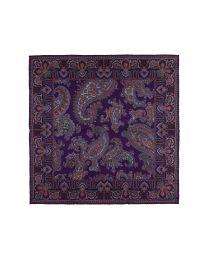 Ancient madder paisley purple