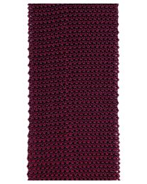 Knit bicolor red / burgundy