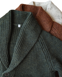 Shawl cardigan custom
