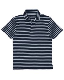Polo stripe navy white