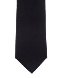 Cashmere herringbone black